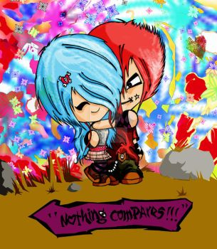 Nothing Compares by artworm1985