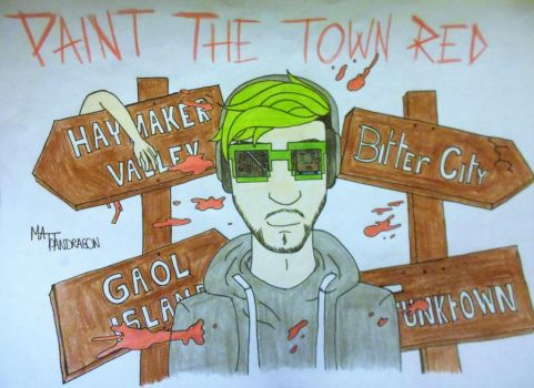 Jacksepticeye - Paint the town red by MattPandragon