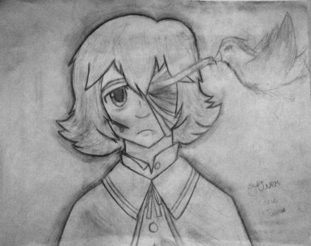 Vocaloid Oliver drawing. yup by kittykatkuro923