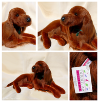 Douglas Cuddle Toys - Maggie Irish Setter by The-Toy-Chest