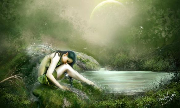 The Fairy by mendha