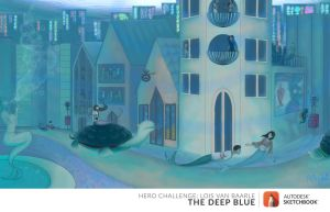 Hero Challenge: The Deep Blue - Sea City by MissJuli