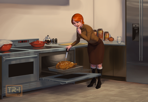 Cooking with Trina 1/5 by 0pik-0ort
