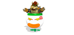 Bowser In His Clown Car by ShadowlesWOLF