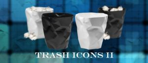 Trash Icons II by MrEikichi