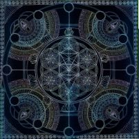 Mandala of Creation's Invocation by Lakandiwa