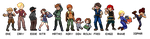 End Run - Trainer Sprites 02 by Jejunity