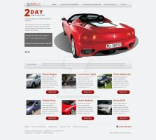 Web Design: Auto One Auctions by ab6421