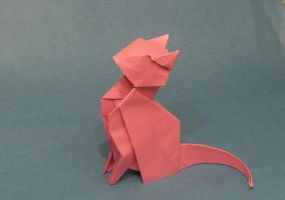 Origami Cat by Orestigami
