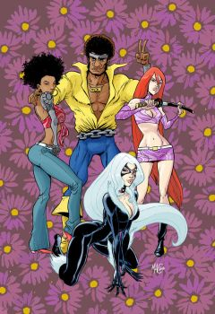 Heroes for Hire color by gianmac