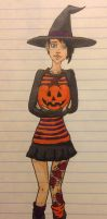 Happy Halloween from Elise by CheshireGrinMoon