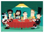 Poker Game Commission by Montygog