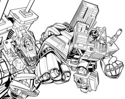 Metroplex and Trypticon by glovestudios