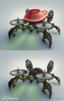 Epic Mickey enemy by Hamilton74