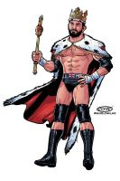 WWE Summer Slam King Barrett by ScottCohn