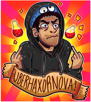 You've got the wrong man! ll UberHaxorNova by Domiinus