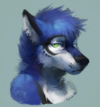 Serix bust by Siplick