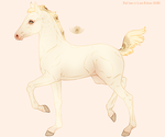 EmeraldTheWolf- Foal design by emmy1320