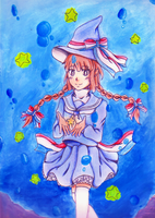 The Blue Sea Witch by Tochiotome-chan