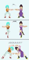 wife of Saiyan Warrior fusion! by NazHannaz