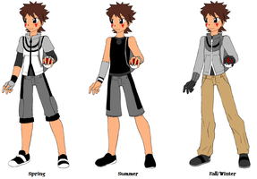 Pokemon Trainer Kouga by tomboy-chan