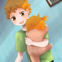 Hinata Shouyo - First time Onii-chan by orangegalaxie