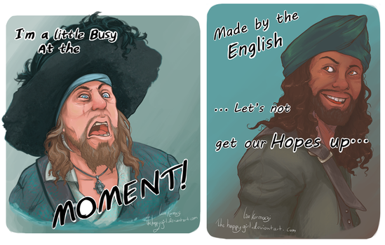 Pirates Of The Caribbean Quotes by thehappygirl