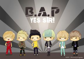 Happy 1st Anniversary, B.A.P!! :D by jinscloud
