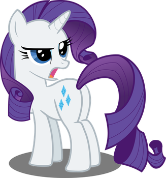 Rarity Does Not Like Your Tone by Sansbox