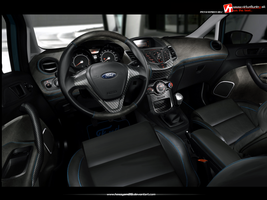 Ford Fiesta Interior by hesoyam25