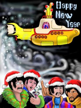 New Year Submarine by OneDreamOneSoul