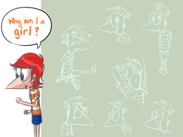 Phineas Sketches by StaticColour