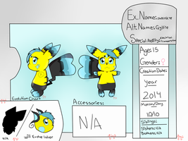 Gylfie Ref for Hollywood-13 by MimiTheFox