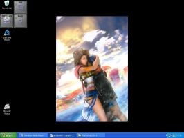 Tidus and Yuna by Ice-shaman