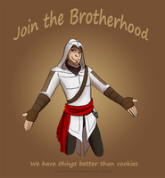 Join our Brotherhood by LilayM