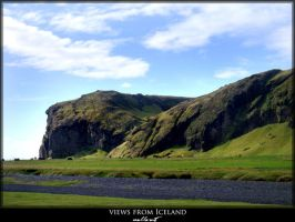 views from Iceland - mountain by JoannaGebka