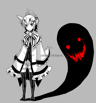 Adoptables AUCTION 03: monochrome [CLOSED] by Rinslettuce