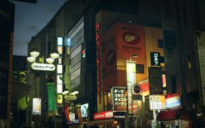 Shibuya lights by alien-tree-sap