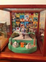 TinTin Diorama by Dan J. Gutwein by danjgutweincreations