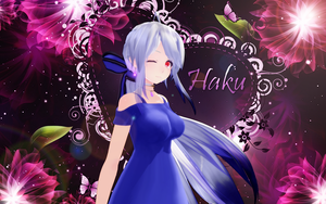 MMD TDA Haku Dress by MentaLilnes
