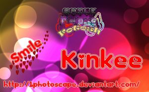 Kinkee Font [by:Smile] by 1Photoscape