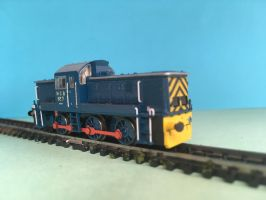 N Gauge Locomotive - NCB No. 7 by JennyRichardBlakina