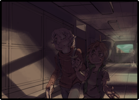 I dun know hallway?? by DroseAttack