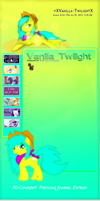 Vanilla Twilight Journal skin by DBluver
