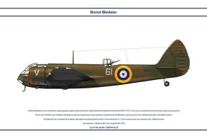 Blenheim GB 61Sqn by WS-Clave
