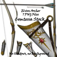 Elven Archer Equipment by Comtessa-Stock