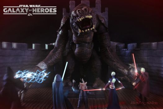 Star Wars Galaxy of Heroes The Rancor Raid 03 by aliasangel2005