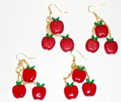 Applejack Cutie Mark Earrings by MadPonyScientist