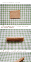 [Italian] Felt cake tutorial- egg roll by li-sa