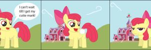 Applebloom's Cutie Mark by T-3000